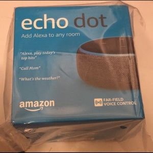 Other - Brand New Echo Dot 3rd Generation